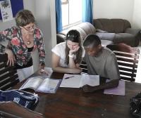 De studiebegeleiding door vrijwilligers